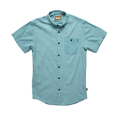 Howler Brothers Mansfield Mens Shirt, Seafoam, viewer