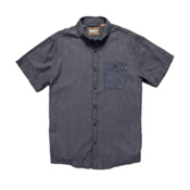 Howler Brothers Mansfield Mens Shirt, Navy, medium