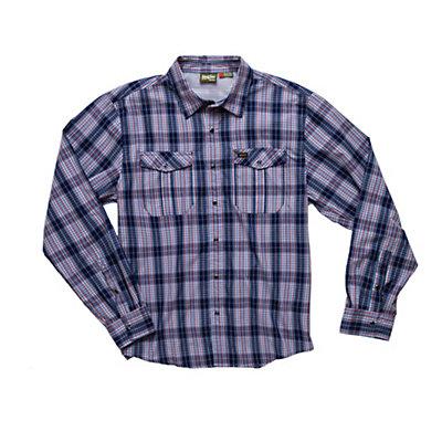 Howler Brothers Gaucho Snapshirt Mens Shirt, Blue, viewer