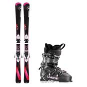 Rossignol Famous 2 XC 70 Womens Ski Package, , medium