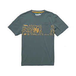 Howler Brothers Classic Pocket Mens T-Shirt, Marine Blue, 256