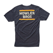 Howler Brothers Select Mens T-Shirt, Beans Charcoal Heather, medium