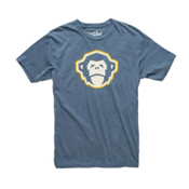 Howler Brothers Select Mens T-Shirt, El Mono Indigo, medium