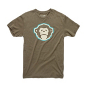 Howler Brothers Select Mens T-Shirt, El Mono Military, medium