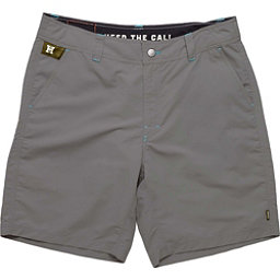 Howler Brothers Horizon Mens Hybrid Shorts, Empire Grey, 256