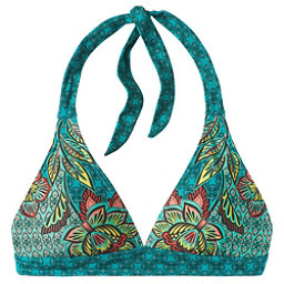 Prana Lahari Halter Bathing Suit Top, Dragonfly Fleur D'amour, 256