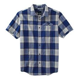 Prana Patras Slim Mens Shirt, Cobalt, 256