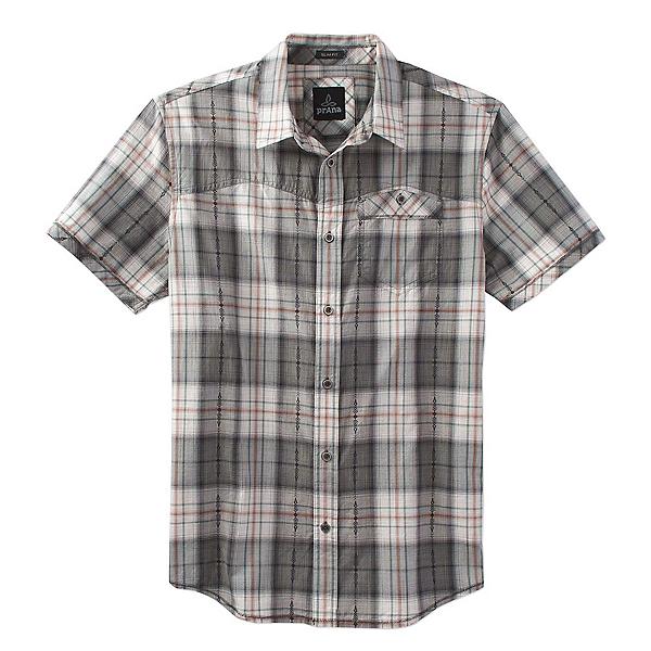 Prana Patras Slim Mens Shirt, Charcoal, 600