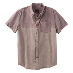 Prana Broderick Standard Mens Shirt, Raisin, 256