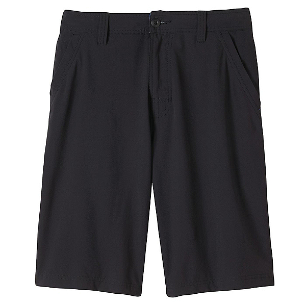 Prana Ansa Mens Hybrid Shorts, Black, 600