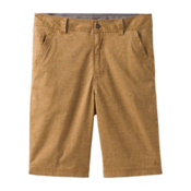 Prana Furrow 8in Mens Shorts, Dark Ginger, medium
