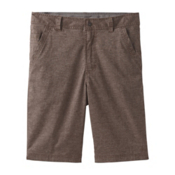 Prana Furrow 8in Mens Shorts, Mud, medium