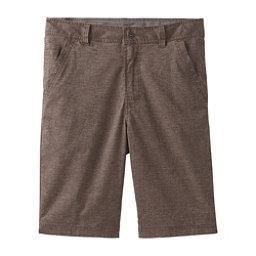 Prana Furrow 8in Mens Shorts, Mud, 256