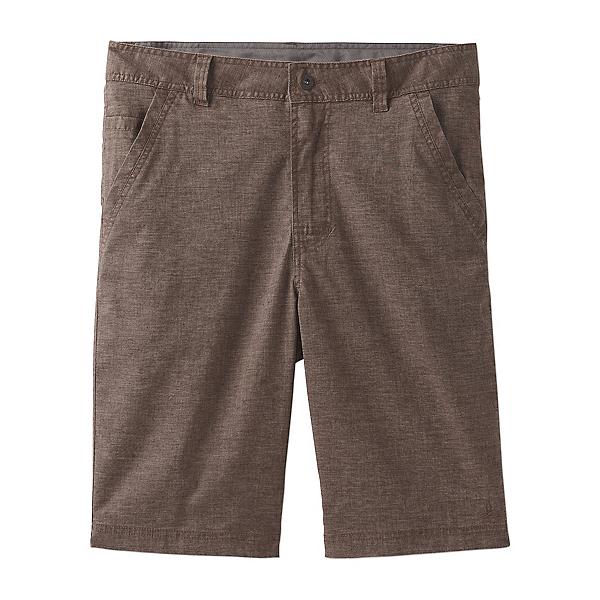 Prana Furrow 8in Mens Shorts, Mud, 600