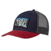 Prana Higher Living Trucker Hat, Navy, medium