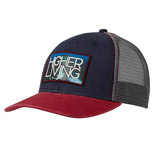 Prana Higher Living Trucker Hat, Navy, 600