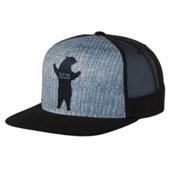 Prana Journeyman Trucker Hat, Charcoal, medium