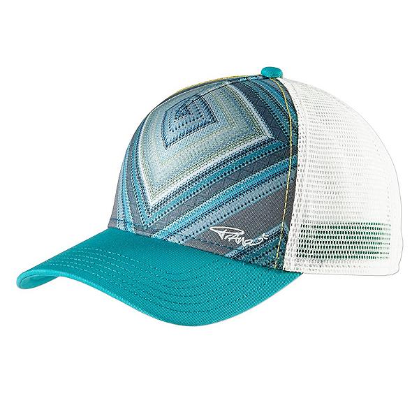Prana La Viva Trucker Womens Hat, Emerald Riviera, 600