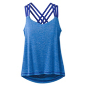 Prana Waterfall Womens Tank Top, Cobalt, medium