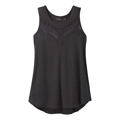 Prana Petra Top Womens Shirt, Black, viewer