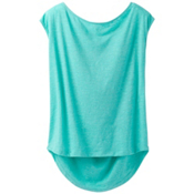 Prana Constance Womens Shirt, Aquamarine, medium