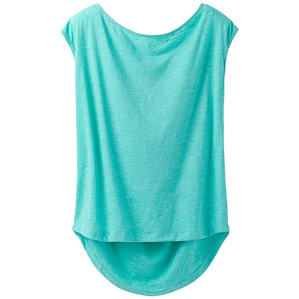 Prana Constance Womens Shirt, Aquamarine, 600