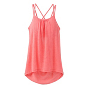 Prana Mika Strappy Womens Tank Top, Summer Peach, medium
