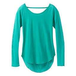 Prana Salsola Top Womens Shirt, Emerald Waters, 256