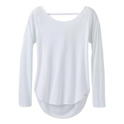Prana Salsola Top Womens Shirt, White, medium