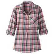 Prana Gina Womens Shirt, Wild Orchid, medium