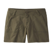 Prana Tess Womens Shorts, Cargo Green, medium