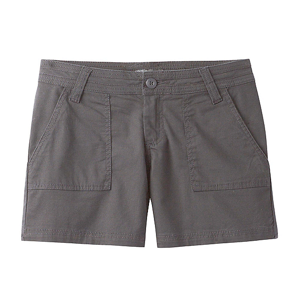 Prana Tess Womens Shorts, Gravel, 600