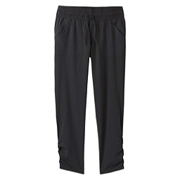 Prana Midtown Capri Womens Pants, Black, 256