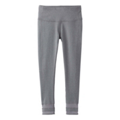 Prana Nile Legging Womens Pants, Heather Grey, medium