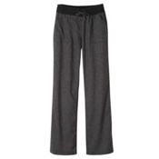 Prana Mantra Womens Pants, Black Herringbone, medium