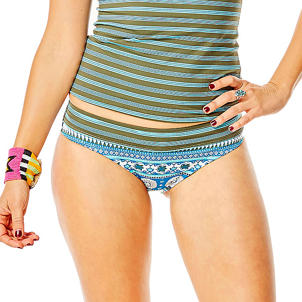 Carve Designs Catalina Bikini Bathing Suit Bottoms, Reed Parisio-Canyon Stripe, 600