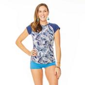Carve Designs Belles Beach Womens Rash Guard, Anchor Kauai-Anchor, medium
