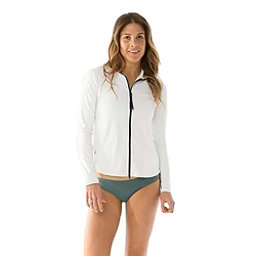 Carve Designs Lake Sunshirt Womens Rash Guard, White, 256