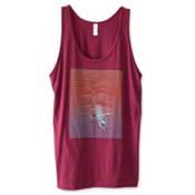 KAVU Heartland Womens Tank Top, Mulberry, medium