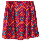 KAVU South Beach Skirt, Jewel Ikat, medium