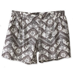 KAVU Sally Womens Shorts, Grey Ikat, 256