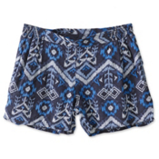 KAVU Sally Womens Shorts, Blue Ikat, medium