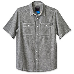 KAVU Jacksonville Mens Shirt, Black Smoke, 256