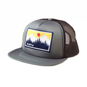 KAVU Foam Dome Hat, Charcoal, medium