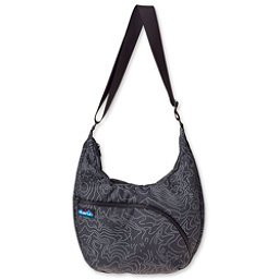 KAVU Singapore Satchel, Black Topo, 256