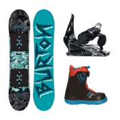 Burton Chopper 2 Grom Boa Kids Complete Snowboard Package, , medium