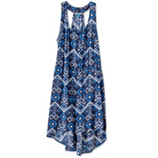 KAVU Jocelyn Dress, Blue Ikat, medium