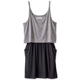 KAVU Coco Dress, Charcoal, 256