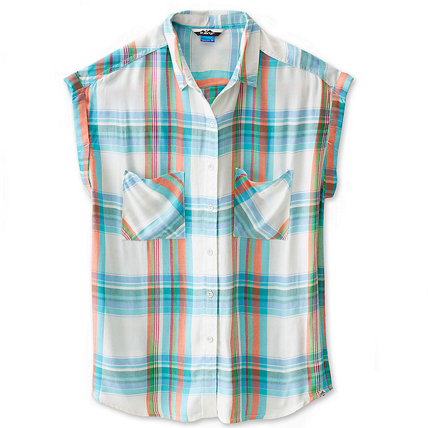 KAVU Belfair Womens Shirt, Beach Vibes, 600