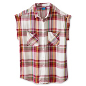 KAVU Belfair Womens Shirt, Northwest, medium